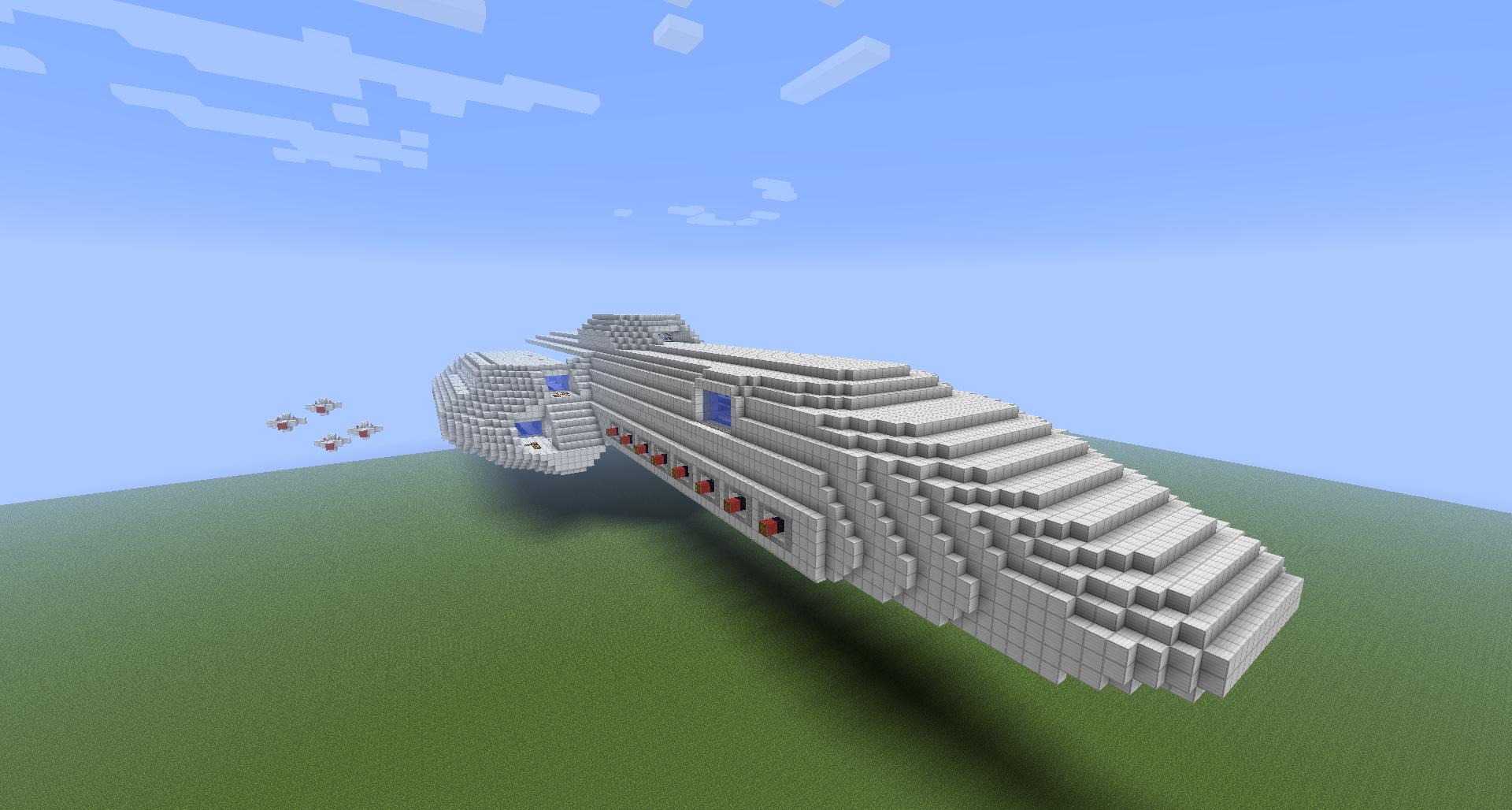 Minecraft Spaceships Wip] spaceship [no name jet] - screenshots - show ...
